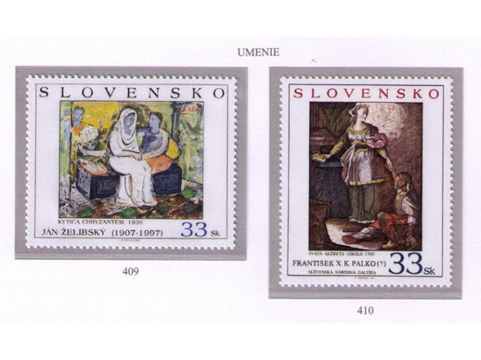 SR 2007 / 409-410 / Umenie