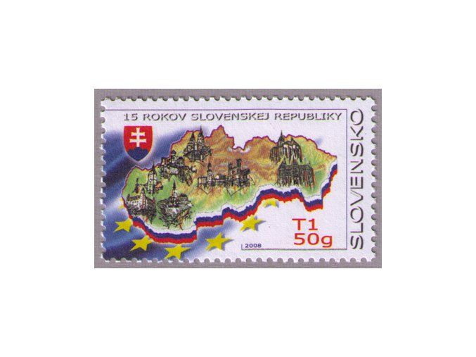 SR 2008 / 413 / 15 rokov Slovenskej republiky
