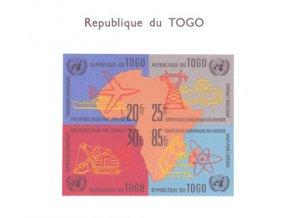 Togo 0325 0328 Bl6