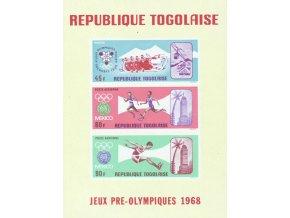 Togo 0629 0631 Bl32
