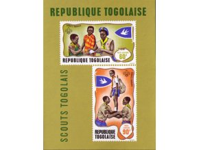 Togo 0677 0678 Bl36