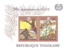 Togo 0776 0777 Bl45