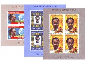 Ghana 0106 0108 Bl 3 Bl 5