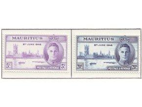 mauritius 0215 0216