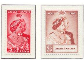 Br Guiana 0190 0191