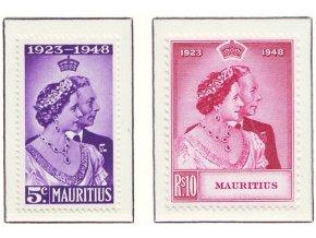 Mauritius 0221 0222