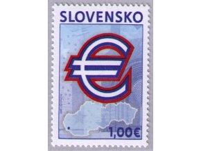 SR 2009 / 437 / Pamätná prvá eurová známka