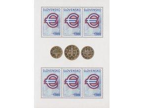 SR 2009 / 437 / Pamätná prvá eurová známka / PL