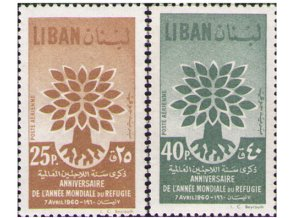 Libanon 0670 0671
