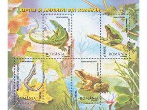 Rumunsko 5764 5767 Bl 334