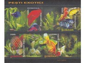 Rumunsko 5912 5915 Bl 351