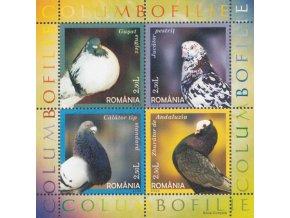 Rumunsko 6001 6004 Bl 366