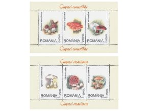 Rumunsko 5754 5759 Bl 332 Bl 333