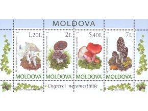 Moldova 694 697 Bl. 49 huby