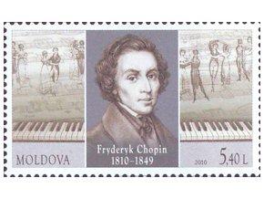 Moldova 693 Chopin