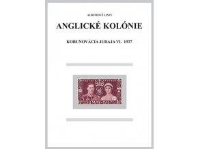 Albumové listy angl kol 1937 Korunovácia Juraja VI.