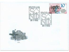 SR 1995 / 059 / Slovenské národné divadlo FDC