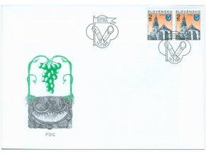 SR 1995 / 060 / Mestá - Nitra FDC
