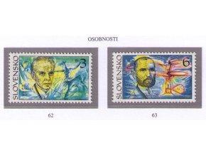 SR 1995 / 062-063 / Osobnosti