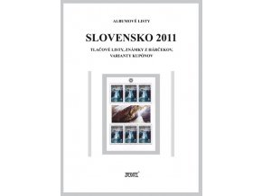Albumové listy SR 2011 II