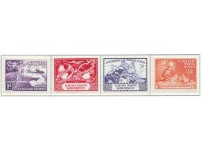 1949 UPU Falkland isl Depend