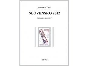 Albumové listy SR 2012 I