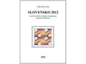 Albumové listy SR 2012 II