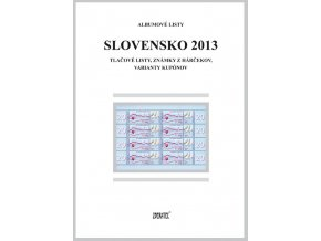 Albumové listy SR 2013 II