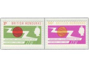 Br Honduras 0184 0185