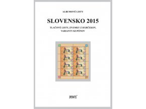 Albumové listy SR 2015 II