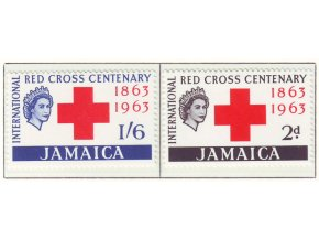 1963 Red Cross Jamaica