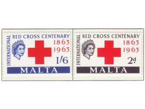 1963 Red Cross Malta