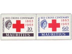 1963 Red Cross Mauritius
