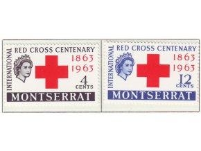 1963 Red Cross Montserat