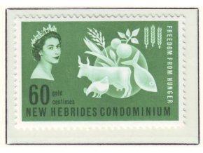 1963 Hunger New Hebrides
