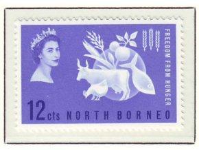 1963 Hunger North Borneo