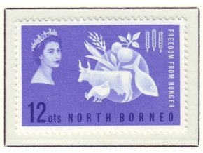 1963 Hunger North Borneo