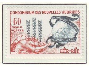 1963 Hunger Nouvelles Hebrides