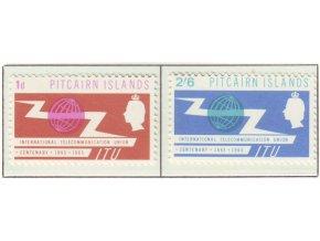 1965 ITU Pitcairn isl
