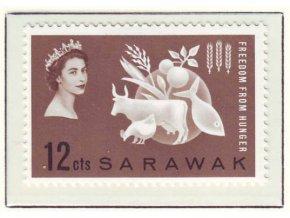 1963 Hunger Sarawak