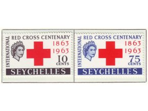 1963 Red Cross Seychelles