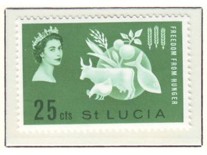 1963 Hunger St Lucia