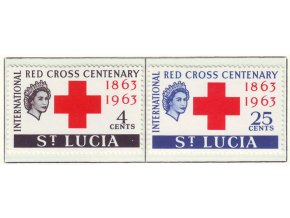 1963 Red Cross St Lucia