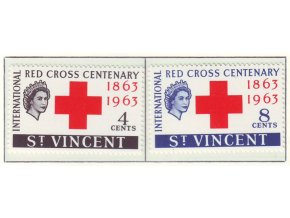 1963 Red Cross St Vincent