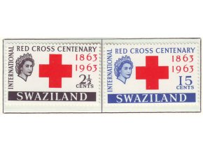 1963 Red Cross Swaziland
