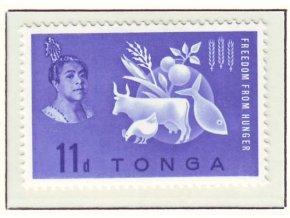 1963 Hunger Tonga