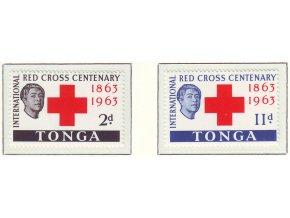 1963 Red Cross Tonga