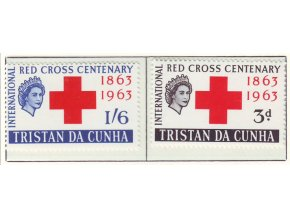 1963 Red Cross Tristan da Cunha