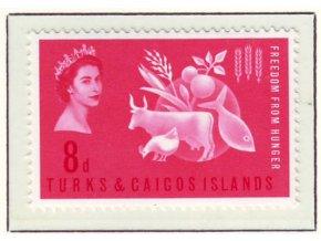 1963 Hunger Turks a Caicos