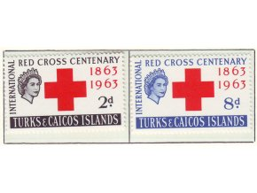 1963 Red Cross Turks a Caicos